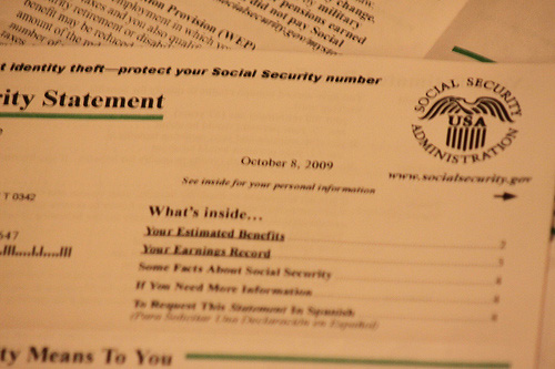 social security now providing online benefit statements economic